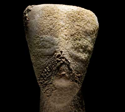 Marble Cycladic figurine of the 'hunter-warrior' type Made in the Cyclades, Greece, about 2300–2200 BC