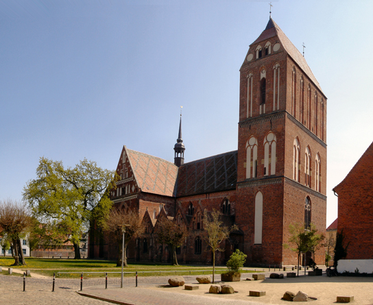 Güstrow Cathedral. Photo: Wikimedia Commons, User:Schiwago. This file is licensed under the Creative Commons Attribution 2.5 Generic license.