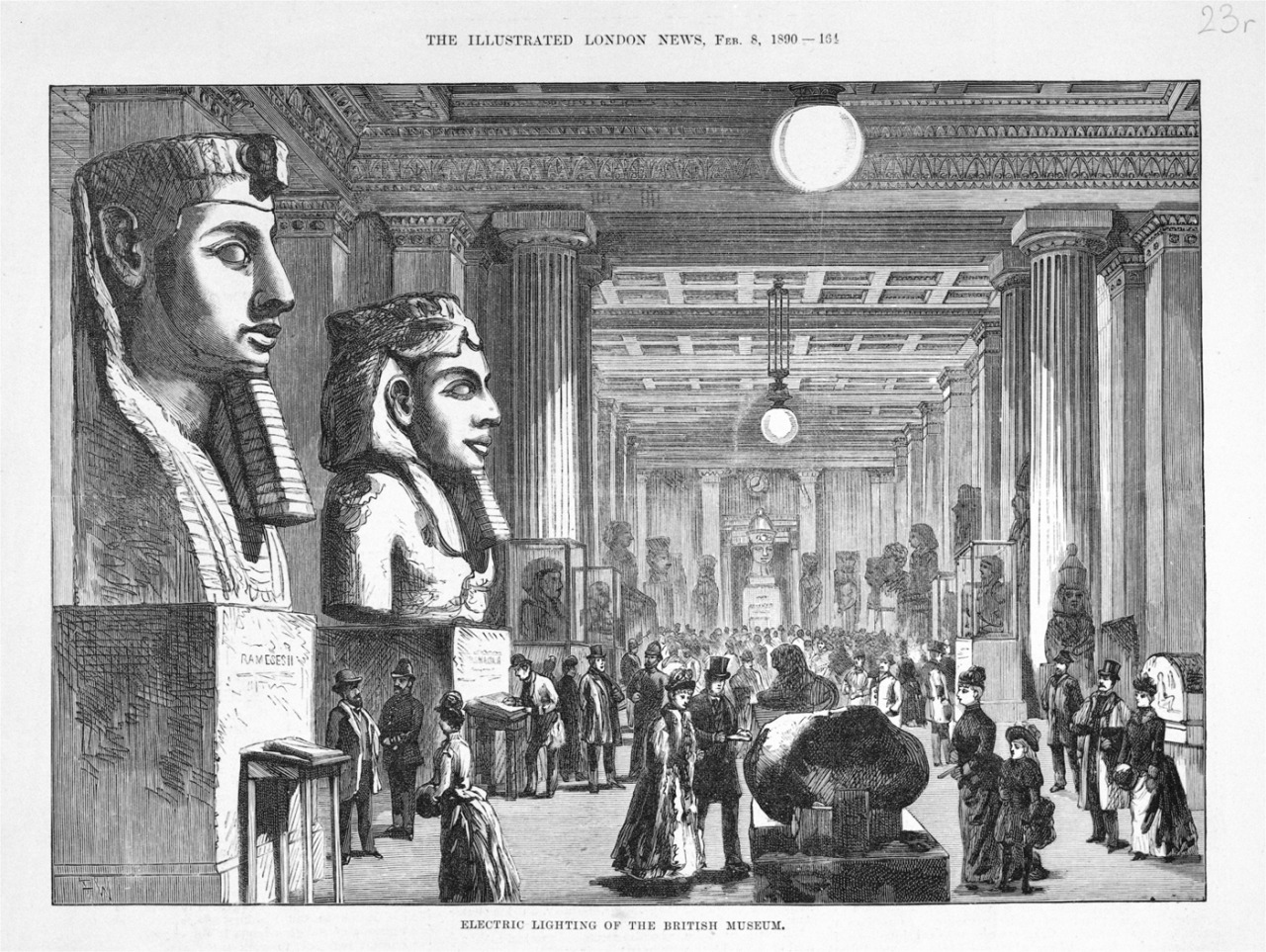 British Museum first to have electric light