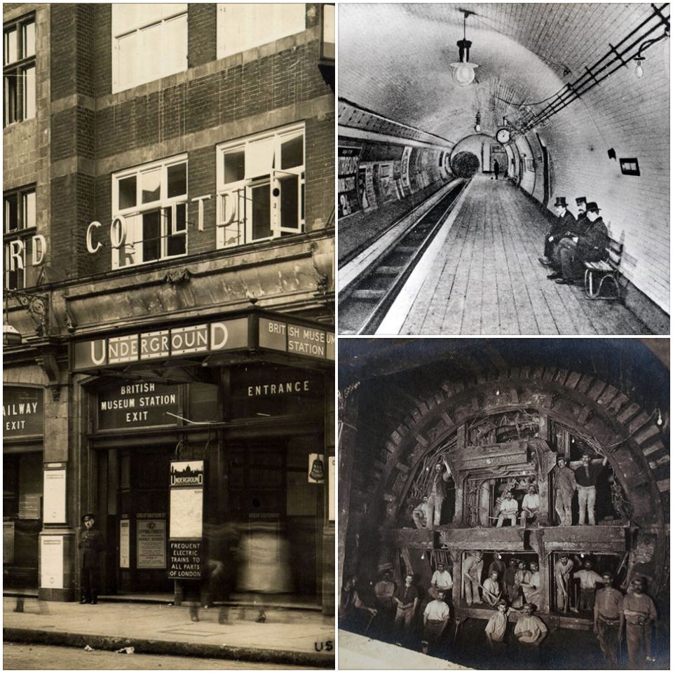 The British Museum's own Tube Station