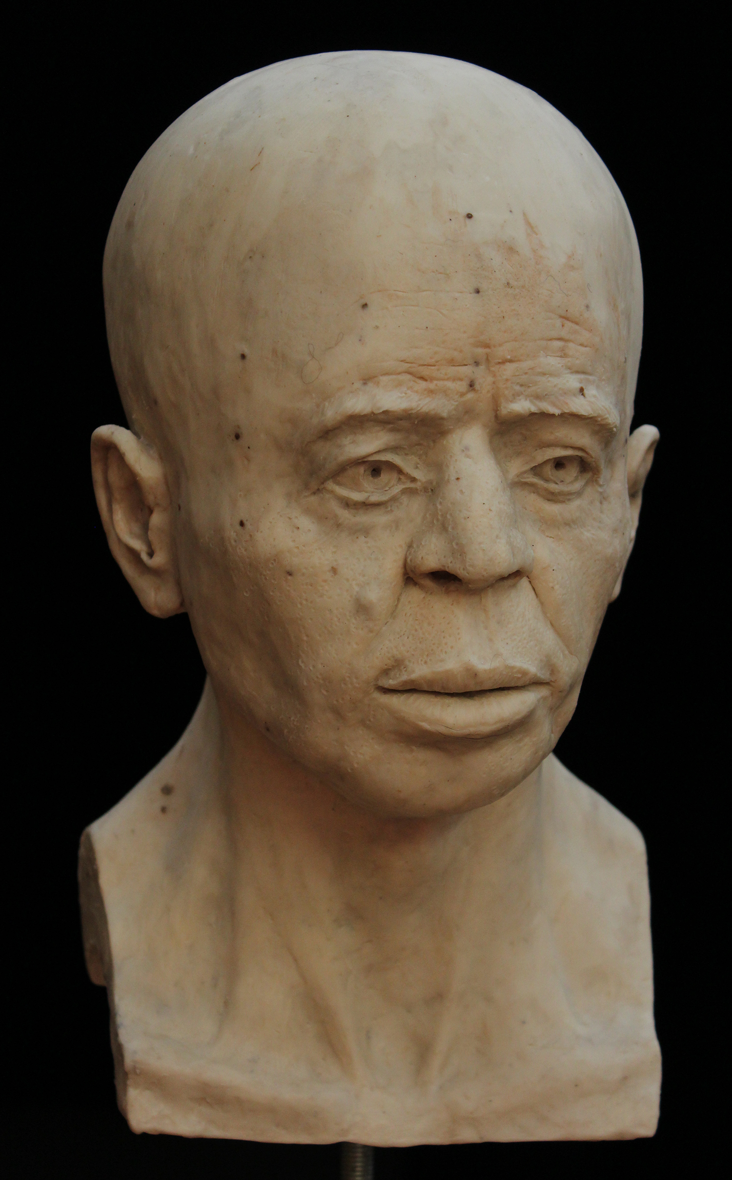 The final reconstruction of the person portrayed in Jericho Skull.
