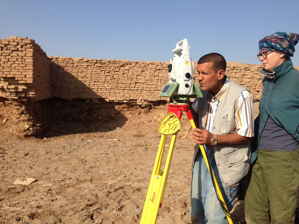 Assessment of the site at Tello.