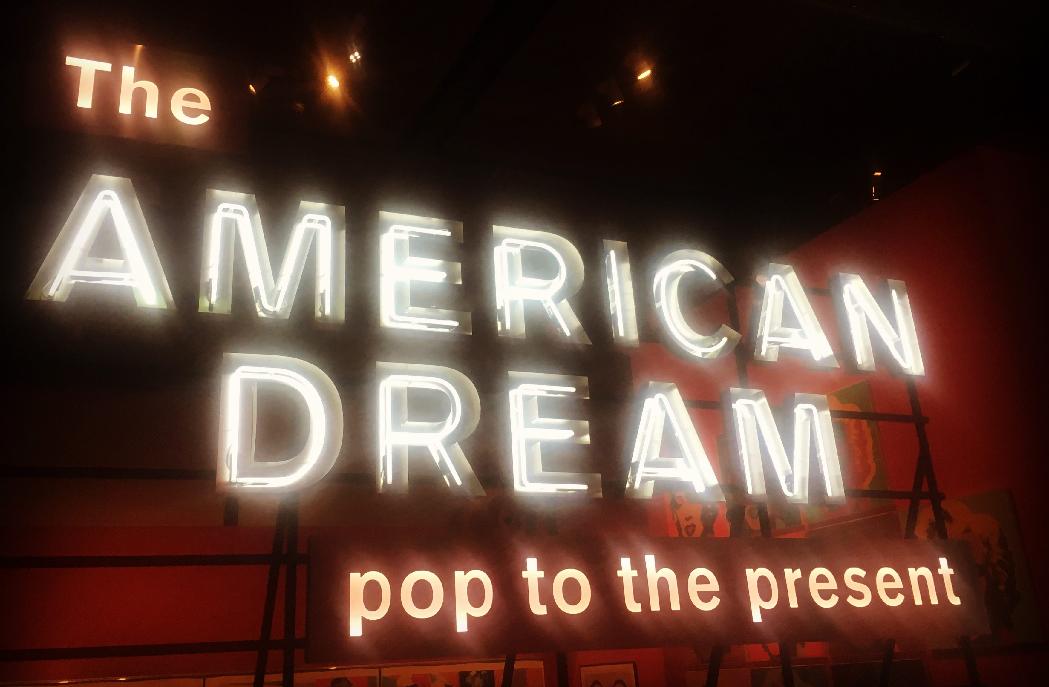 The American Dream at the British Museum?