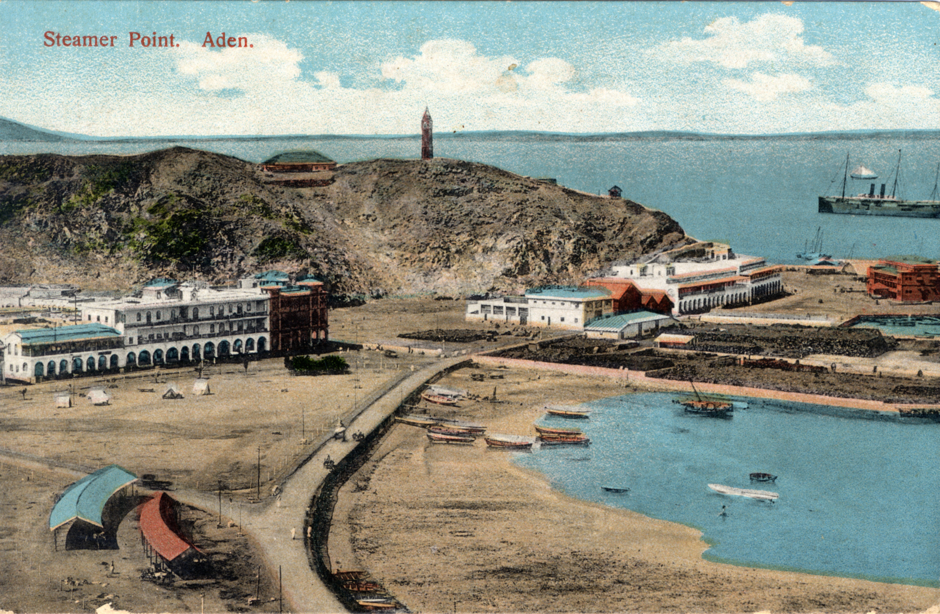 postcards from aden the british museum blog