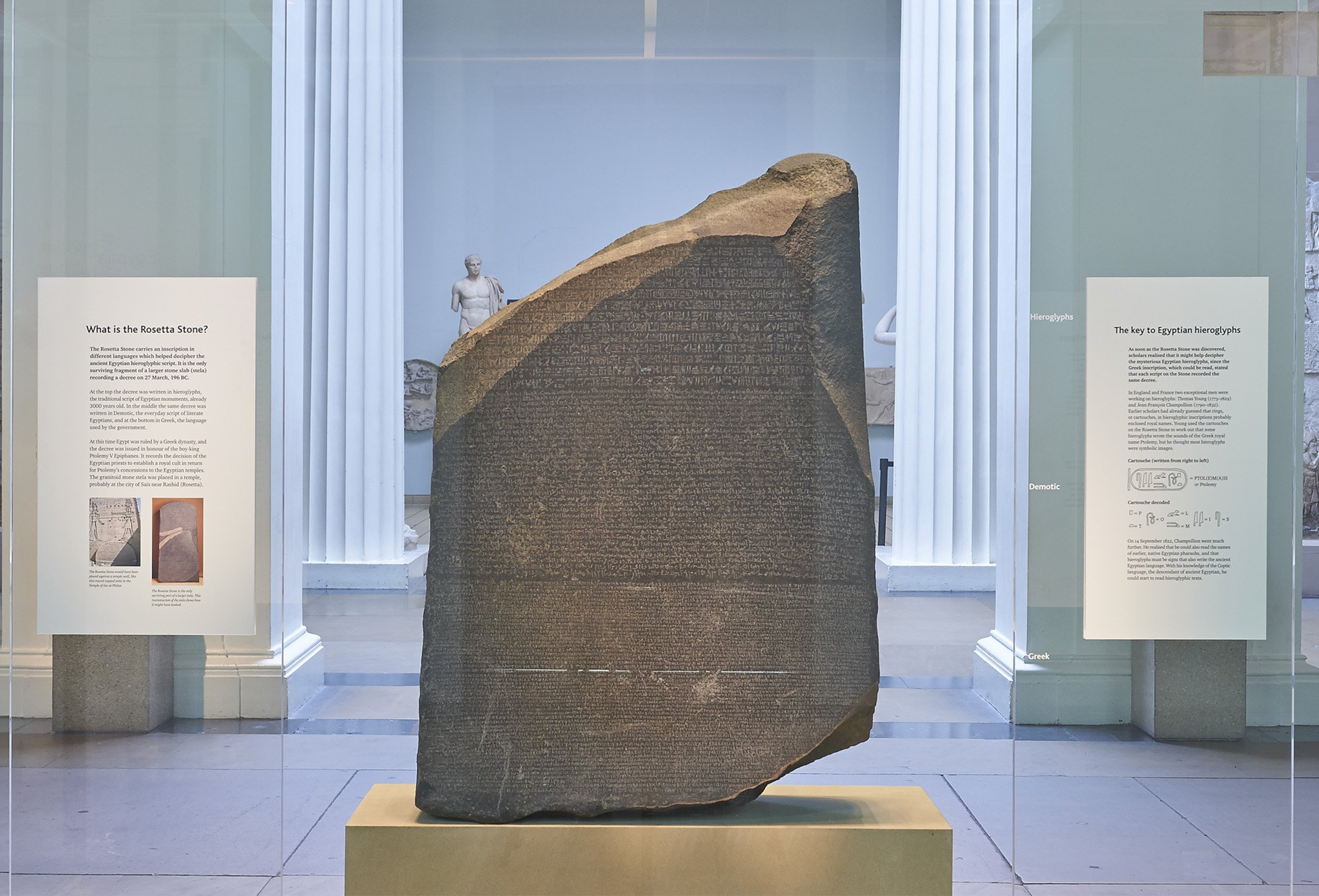 The Rosetta Stone in Room 4