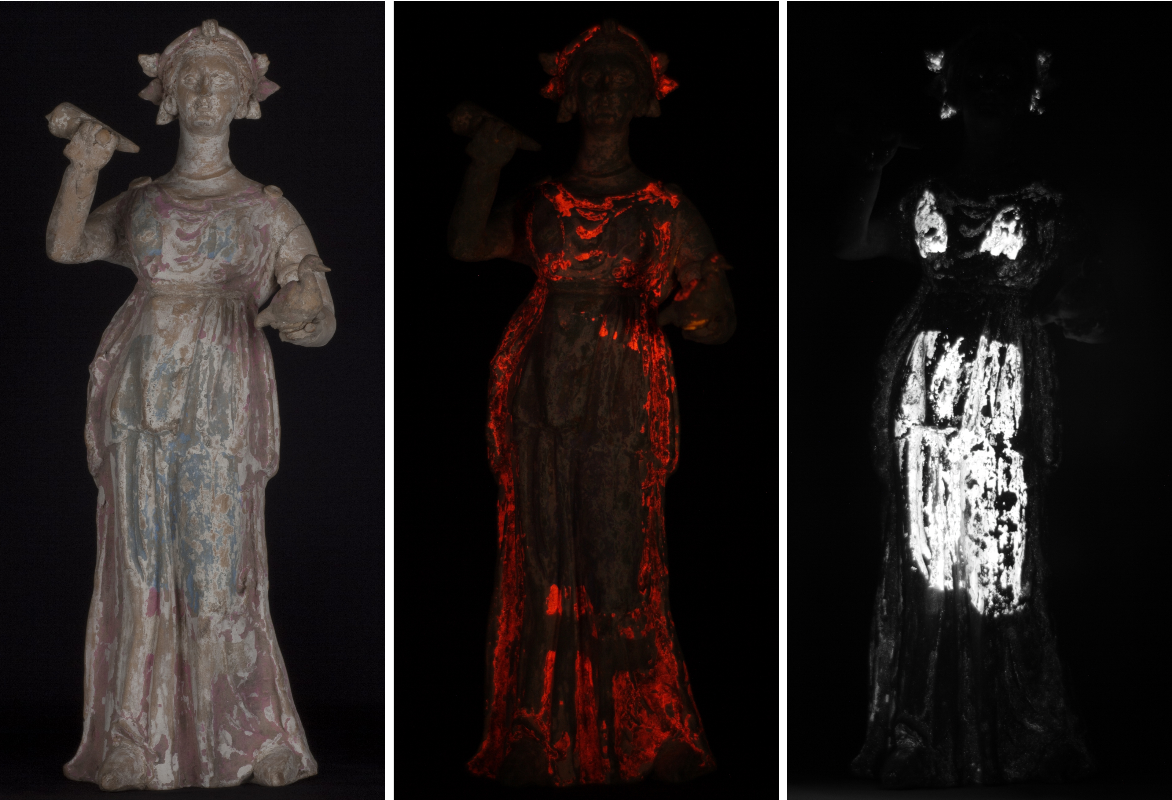 Ladies 'a-glow' – finding the colour in 2,000 year old figurines