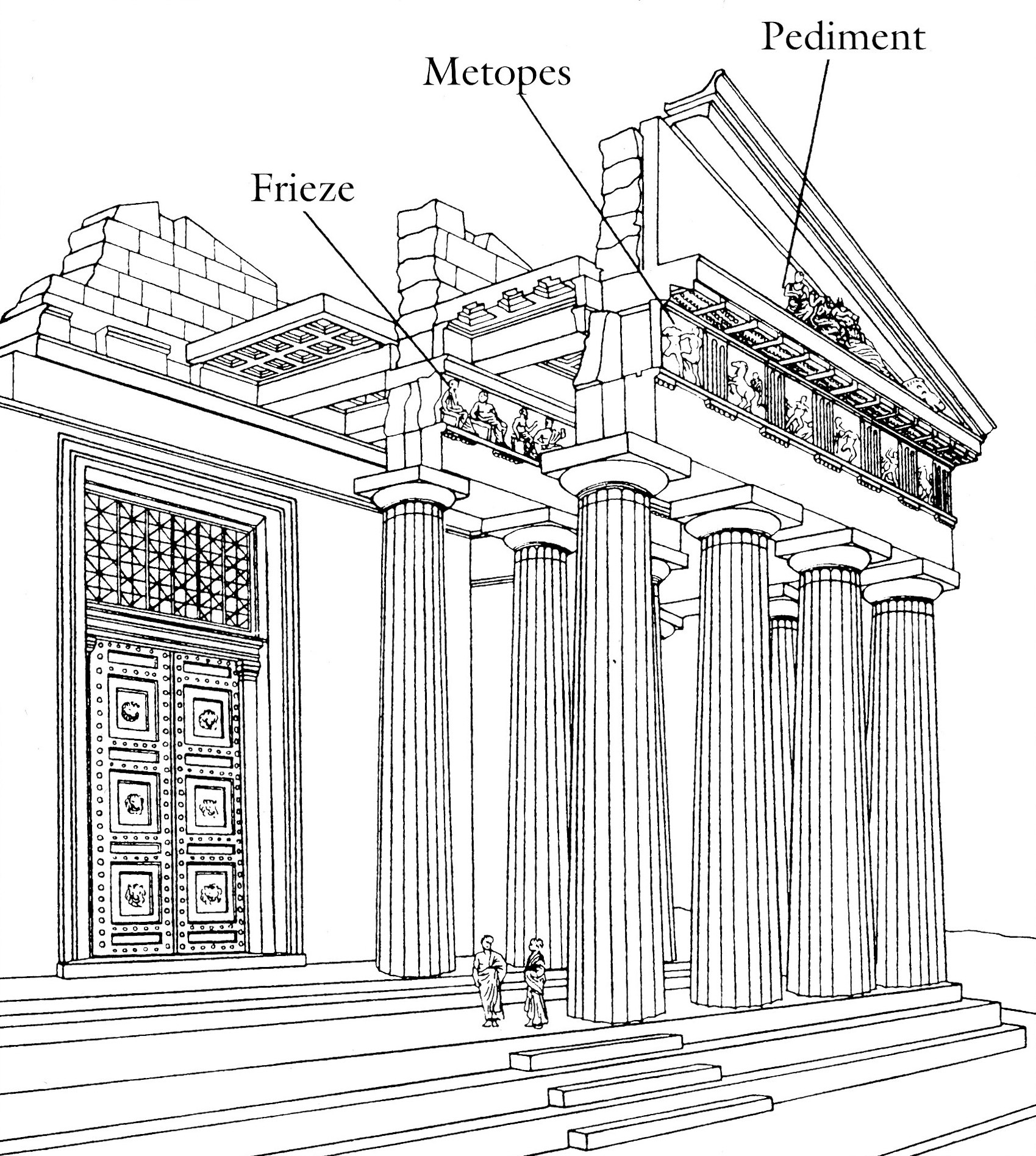 an introduction to the history and an analysis of greek architecture The greek buildings that were constructed in the ancient times, on the other   ancient greek architecture - provides a brief introduction on greece's history, the   of archaeology: greek architecture [pdf] – provides a detailed analysis on the .