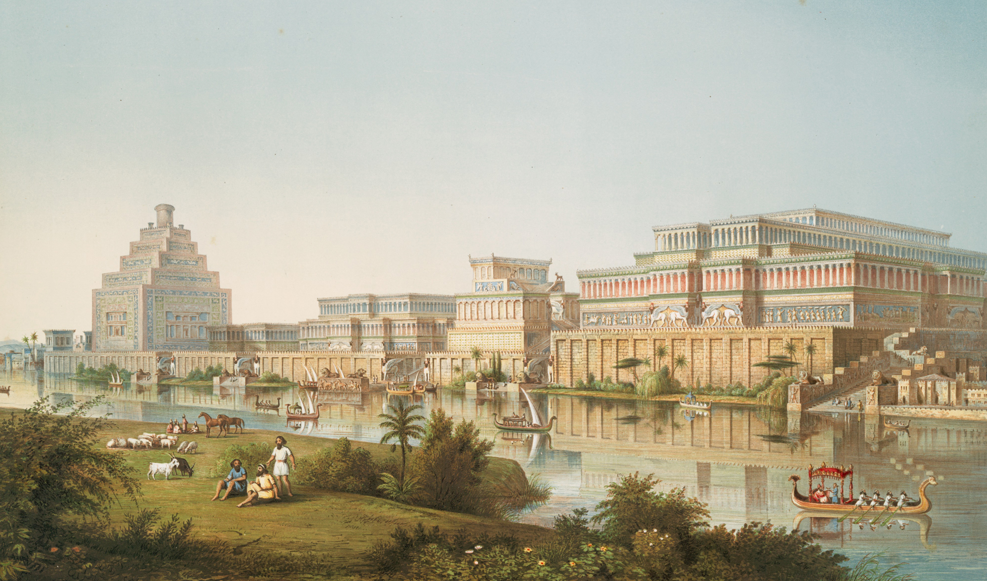 Historical city travel guide: Nineveh, 7th century BC