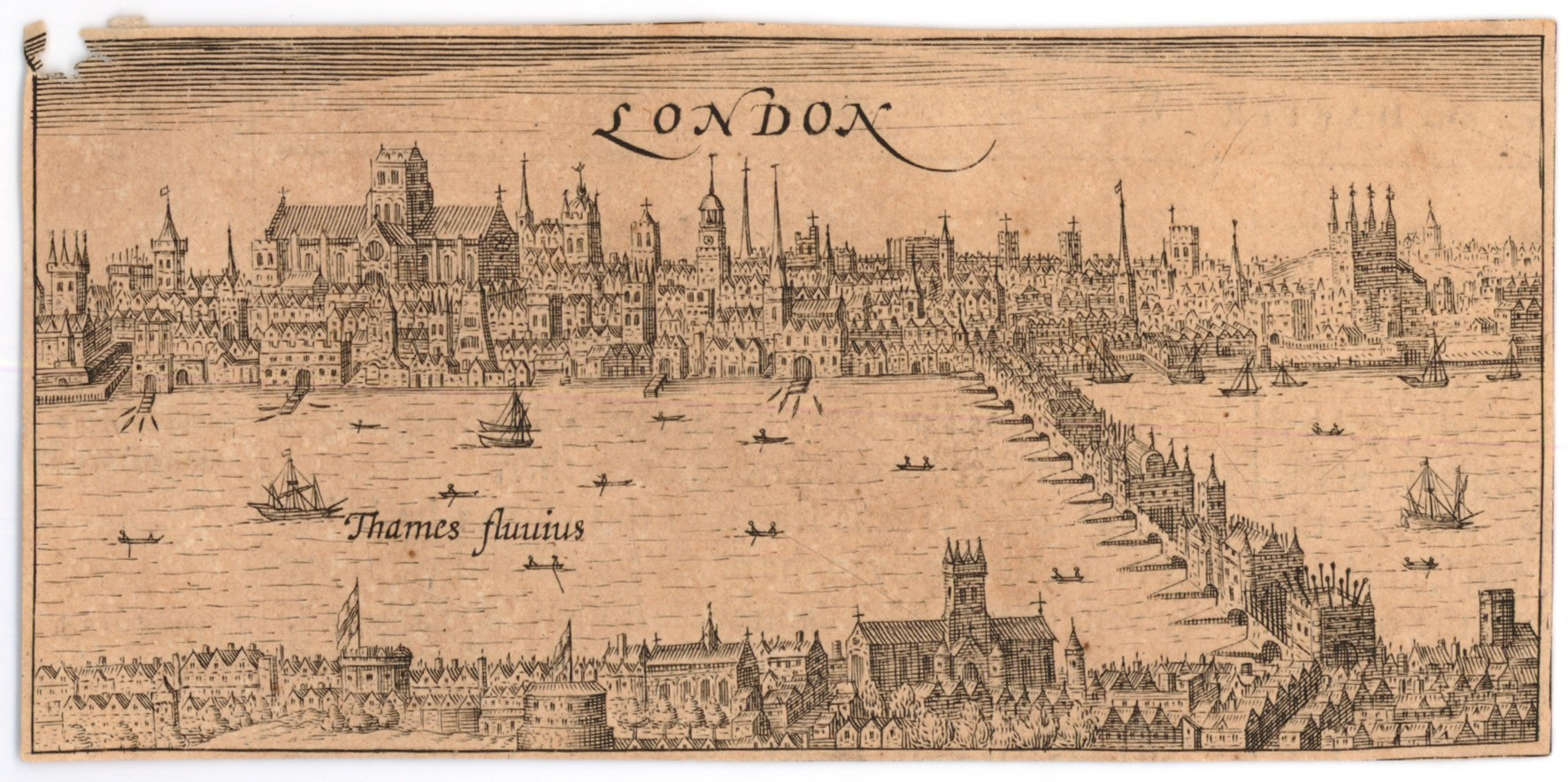 Historical city travel guide: London, late 16th century