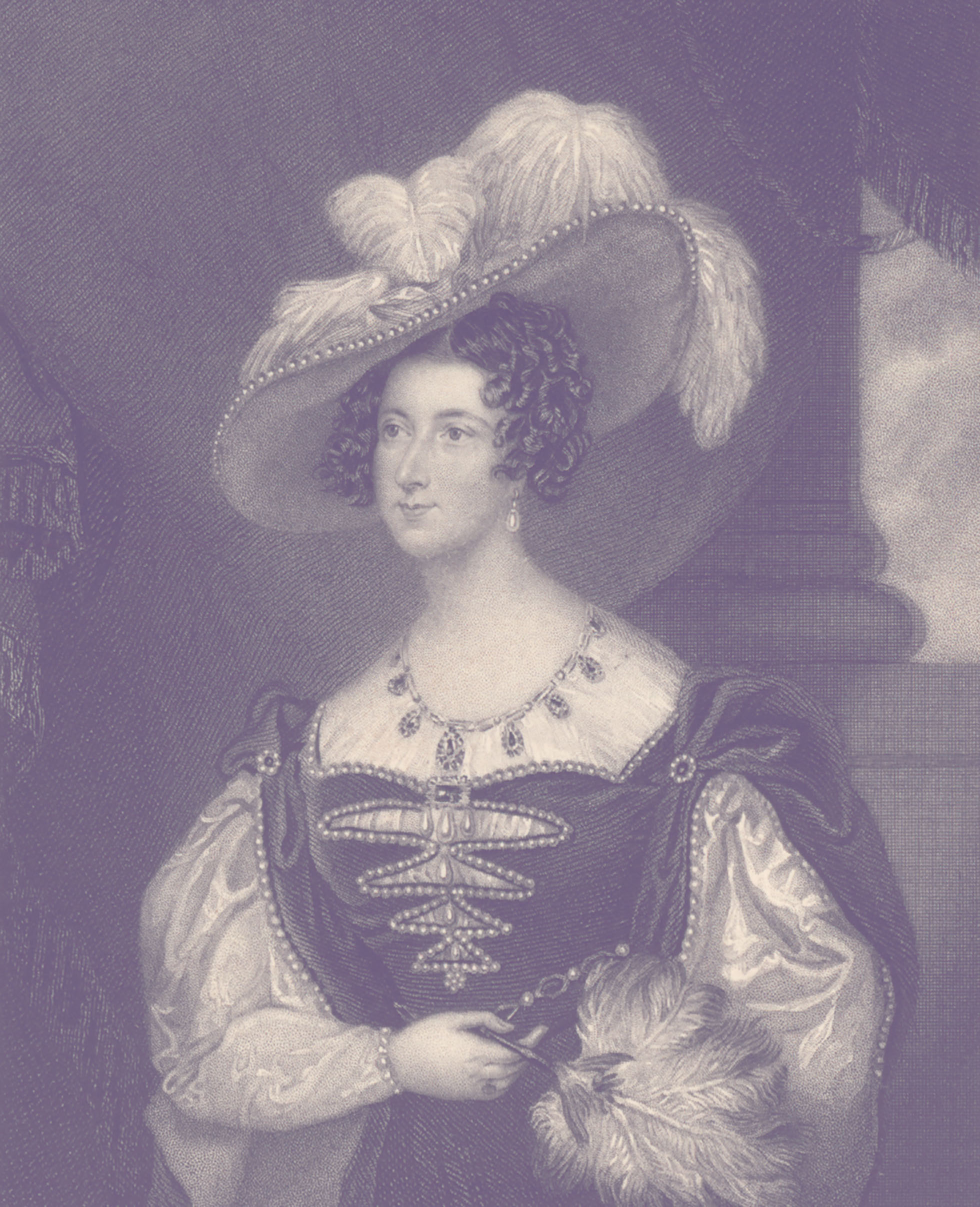 Portrait of Anna Maria Russell, Duchess of Bedford.