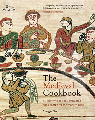 Book cover of the Medieval Cookbook.